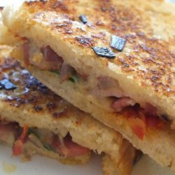 Super Snazzy Grilled Cheese Sandwich recipe