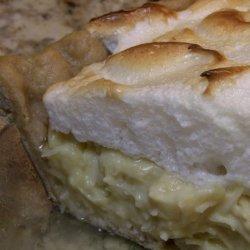 Rocky Mountain High Coconut Cream Pie