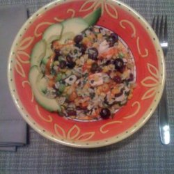 Brazilian Chicken and Black Beans and Rice