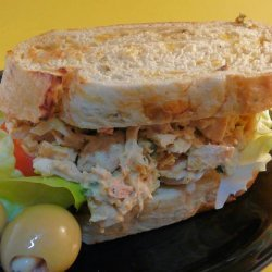 Curry Tuna Fish Sandwiches
