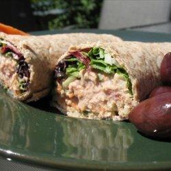 Tuna Salsa Wraps