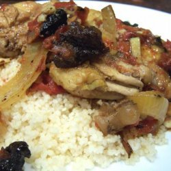 Chicken Tagine With Plums and Spices recipe