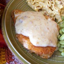 Country-Fried Chicken with Gravy