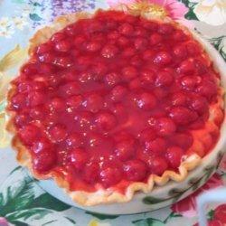 Fudgy Cherry-Cream Cheese Pie
