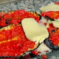 Eggplant Baked With Cheeses