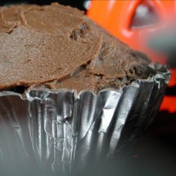 Red Devil's Food Cupcakes With Mocha Cocoa Frosting