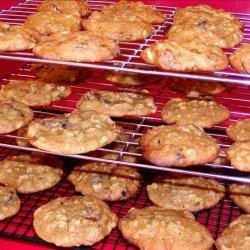 Pumpkin Oatmeal Drop Cookies