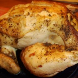 Sarasota's Roasted Whole Chicken With a White Wine Sauce