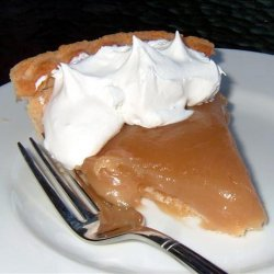 No Bake Maple Syrup Pie