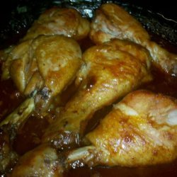 Honey Barbecue Baked Chicken