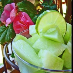 Honeydew Melon With Lime Juice