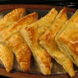 Chicken Pot Pie Turnovers-Yum!