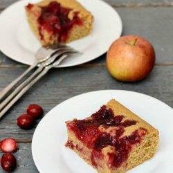 Apple-Cranberry Coffee cake