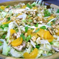 Cashew Chicken Salad With Mandarin Oranges