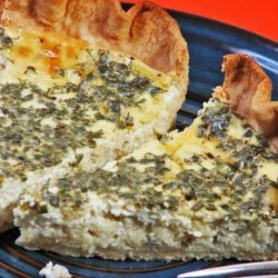 Swiss Cheese Pie recipe