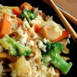 Chicken Teriyaki with Cashew Pineapple Rice