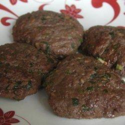Korean Beef Patties