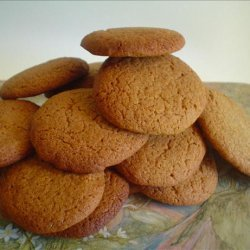 Soft Spicy Molasses Cookies