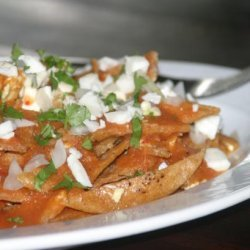 Guadalajara Style Chilaquiles recipe