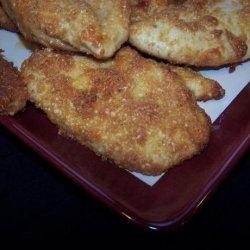 Crispy Cheddar-Parmesan Chicken Breast
