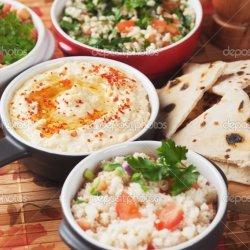 Mediterranean Chickpea Hummus