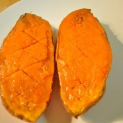 A Very Simple Sweet Potato (Or Yam)