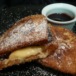 Kicked up Monte Cristos! recipe