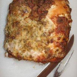 Roast Pork Loin With Dijon Herb Crust