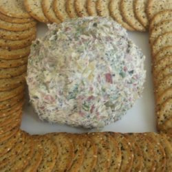 Dried Beef Cheese Ball 3