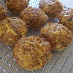 Leftover (Or Not) Pasta Muffins OAMC