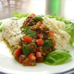 Cod Fillets with Tomato & Spinach Relish