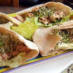 Salmon Salad Pita Pockets
