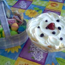 Lemon Blueberry Trifle recipe