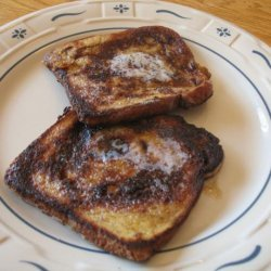 Amaretto French Toast W/Amaretto Butter and Syrup