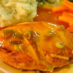 Chicken With Apricot-Ginger Sauce