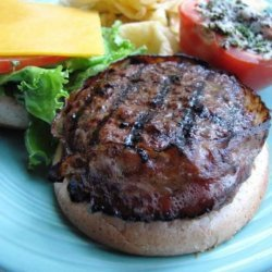 Special Bacon Wrapped Burgers