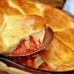 Tuscan Italian Sausage Pot Pie