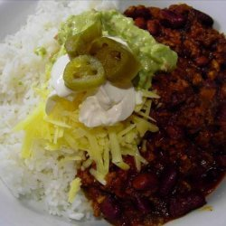 Mike's Fantastic Chili Con Carne With Beans