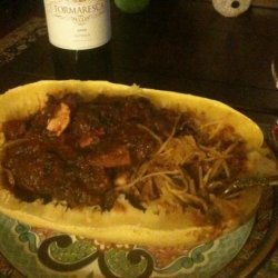 Crock Pot/Slow Cooker or Stove Top Chicken Spaghetti