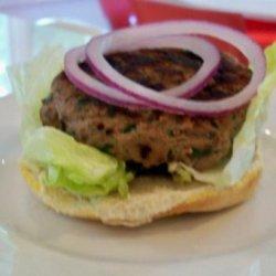 Greek Turkey Burger - Bethenny Frankel