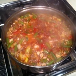 Quick and Healthy Vegetable Beef Soup (Low Carb and Ww Friendly)