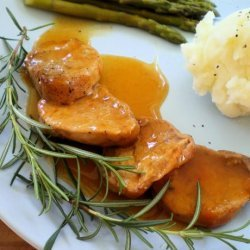 Pork Medallions in Orange Sauce