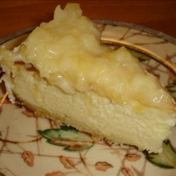 Mmmm Smooth & Creamy Coconut Cheesecake recipe