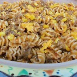 Quick & Easy Taco Burger Casserole