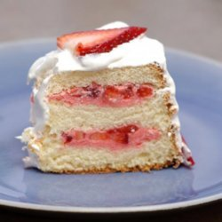 Strawberry Sunshine Cake
