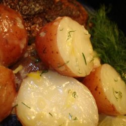 Lemon & Garlic Buttered Potatoes
