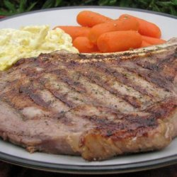 Peppered Rib Eye Steaks