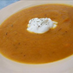 Pear and Butternut Bisque