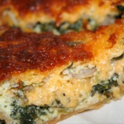Spinach & Feta Quiche