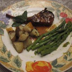 Minted Lamb Chops - Slow Cooker